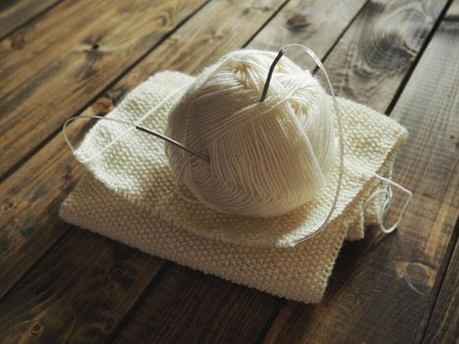 strikkeillustrasjon